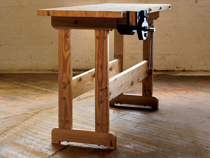 Build Your Dream Workbench With One Of These Free Plans Woodworking Workbench Woodworking Bench Plans Woodworking Furniture Plans