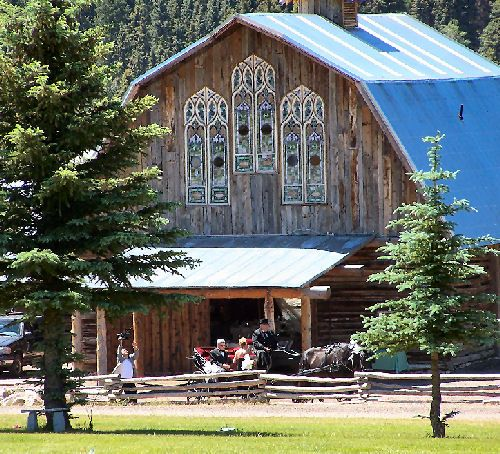 Colorado Weddings And Events At The Barn At Evergreen Memorial
