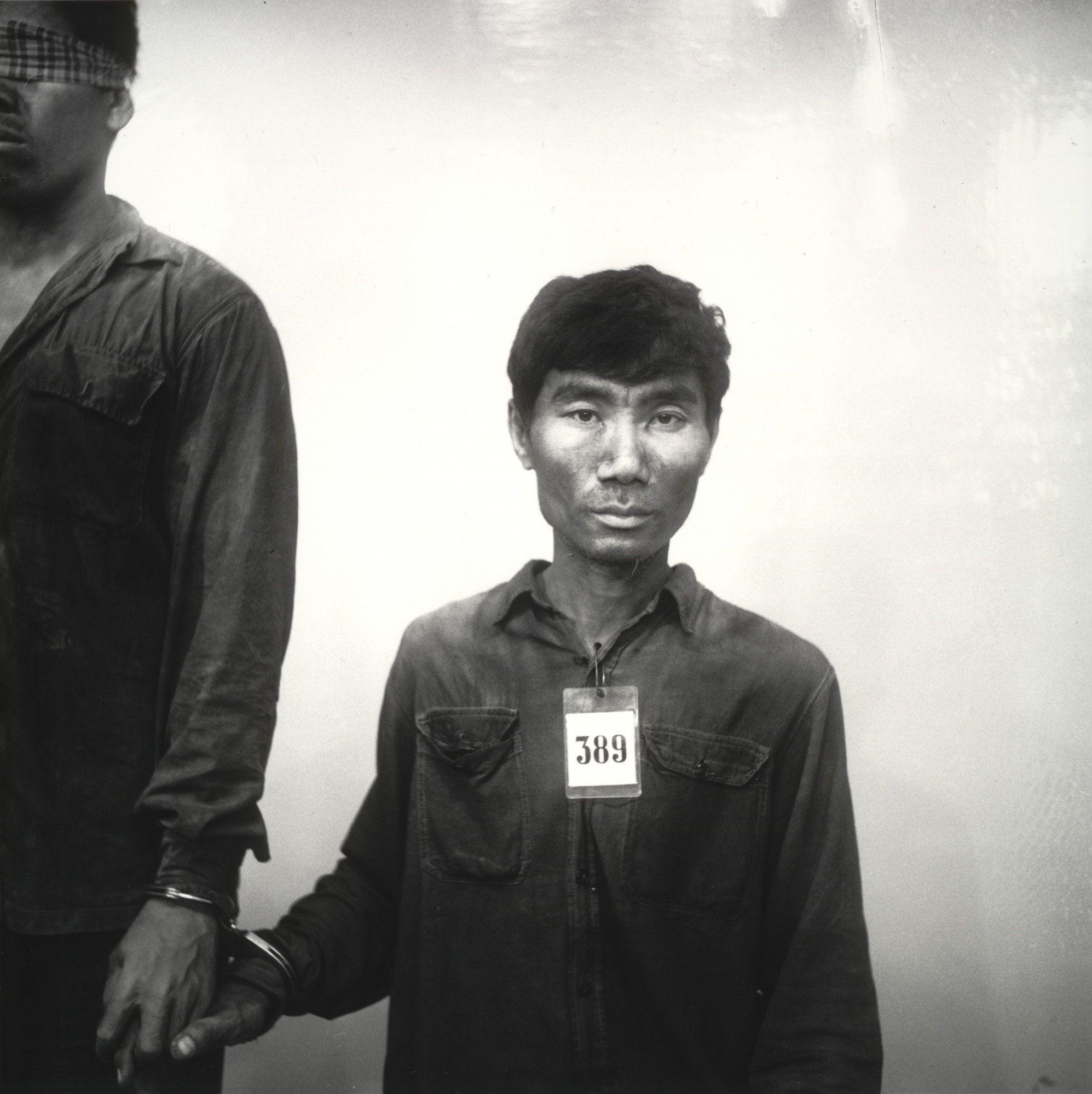 Nhem Ein. Untitled (prisoner #389 of the Khmer Rouge). 1975-79