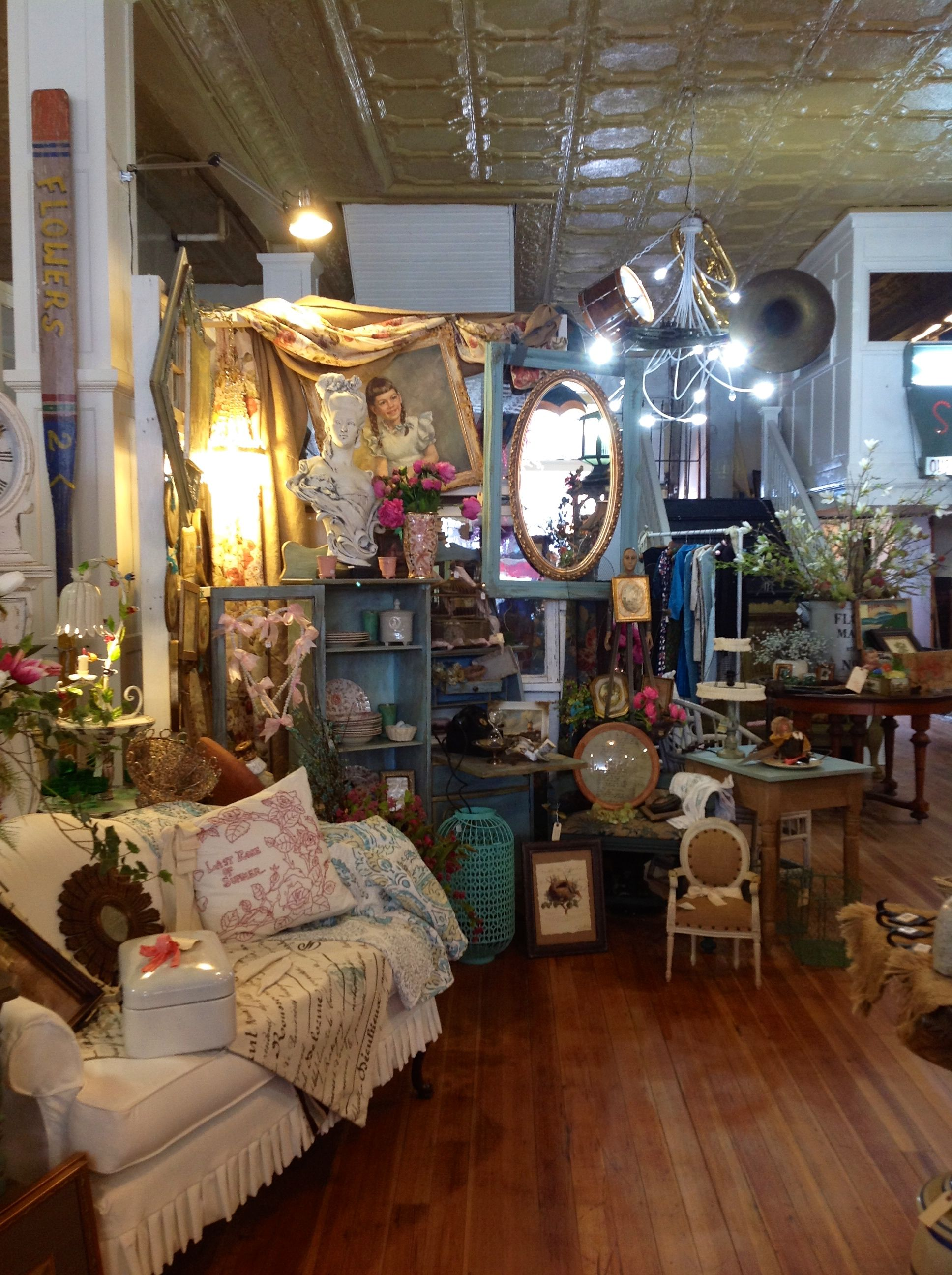 Ms Gilmore's Vintage Suitcase & Tea Room in Springfield, Missouri ...
