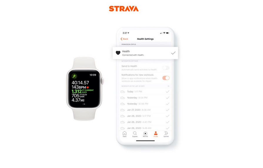 Strava for iOS Adds HealthKit Integration for Direct Apple