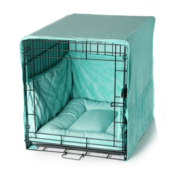 Plush Dog Crate Cover Small