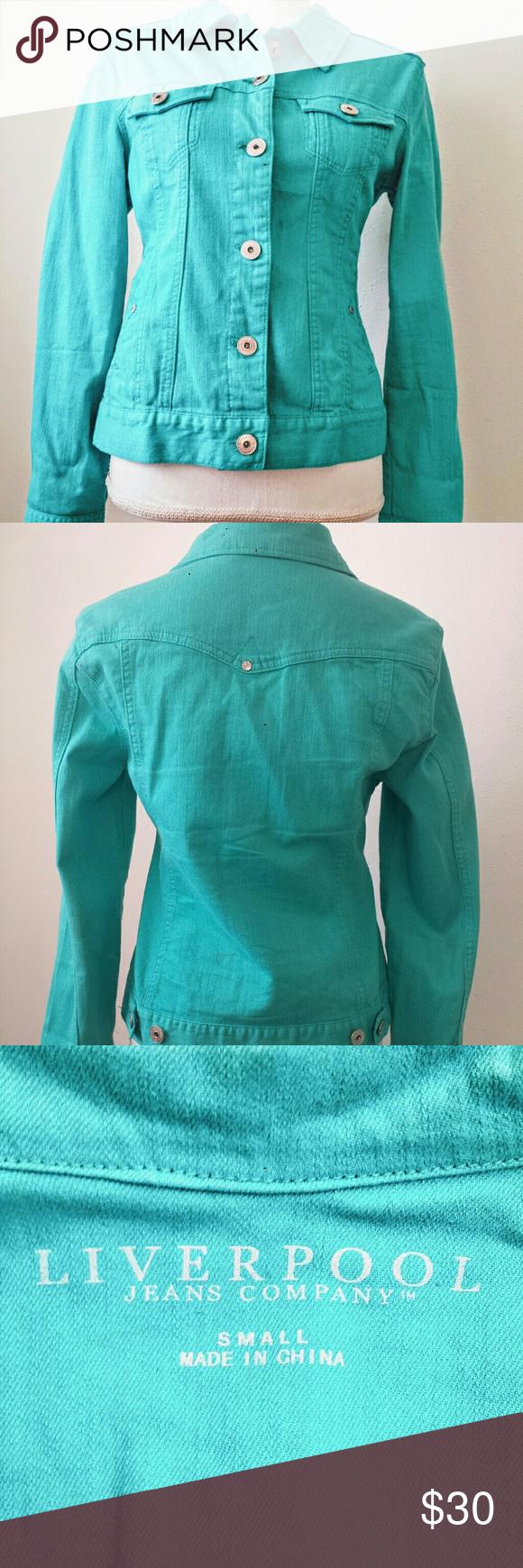 Liverpool Jean Jacket Liverpool Jeans Clothes Design Jean Jacket [ 1740 x 580 Pixel ]