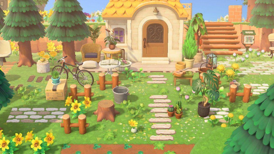 Animal Crossing New Horizons Villager Garden Ideas