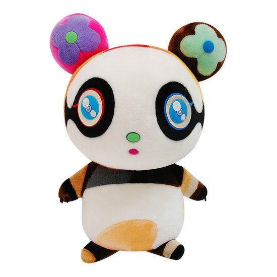 Louis Vuitton x Takashi Murakami Putipanda #cute #plush #toy #panda pinned with Bazaart