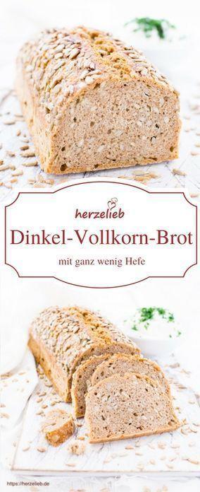 Photo of Kerniges Dinkel-Vollkorn-Brot mit Sonnenblumenkernen