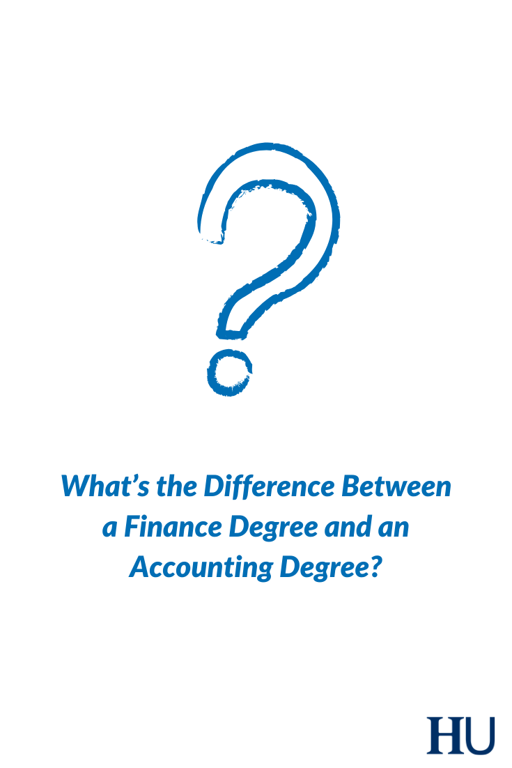 Finance Degree Vs Accounting Degree What S The Difference