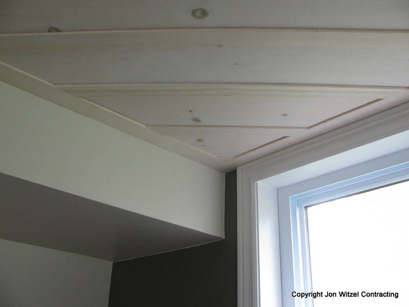 Board And Batten On Ceiling Wood Trim Ceilings