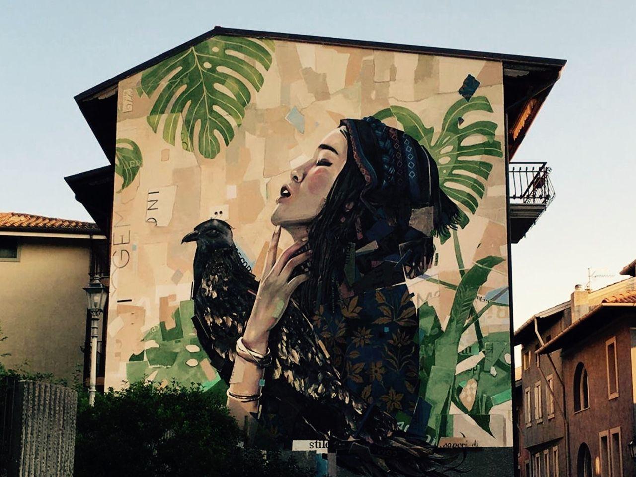 "soupmagazine: ""https://www.instagram.com/streetart_in_rome/ """