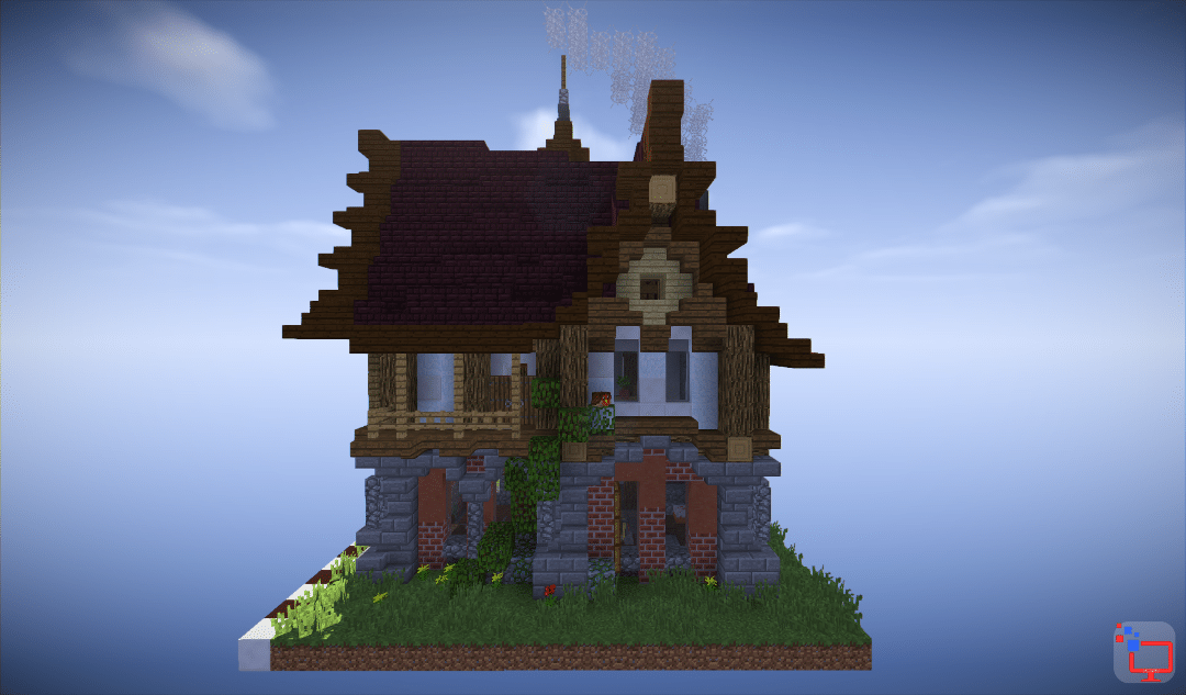Mediveal Minecraft House