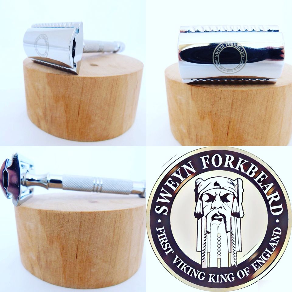 Safety Razor SF1 Silver Handle Safety razor, Shaving oil