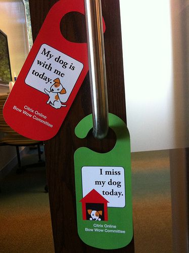 Convey Important Messages Through Door Hangers #Doorhangers