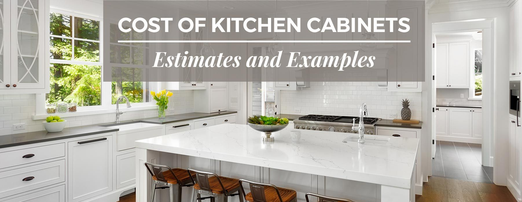 Cost Of Kitchen Cabinets Estimates And