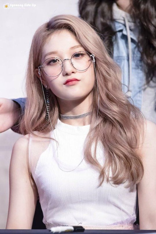 Seoyeon Blonde Hair Kpop Blonde Hair Girl Kpop Hair