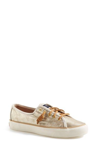 92c1979cb1f Free shipping and returns on Sperry  Seacoast  Boat Shoe (Women) at  Nordstrom.com. Sperry s signature siped sole and rawhide laces add plenty  of nautical ...