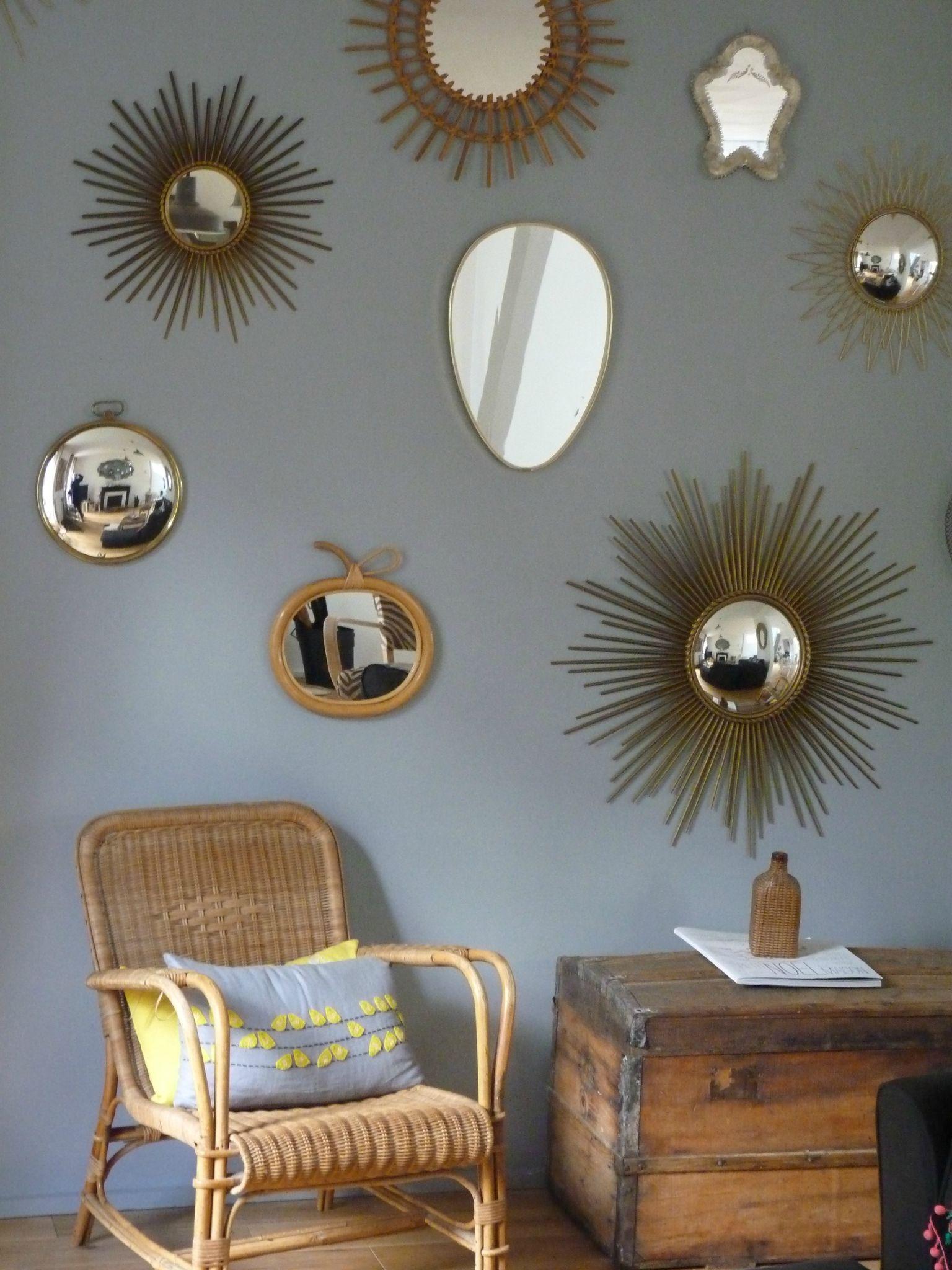 afficher l 39 image d 39 origine mur de cadres pinterest images miroirs et mur de miroirs. Black Bedroom Furniture Sets. Home Design Ideas