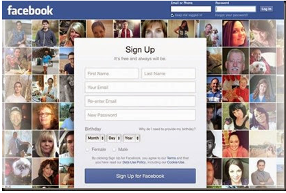 facebook login book login home page facebook pinterest
