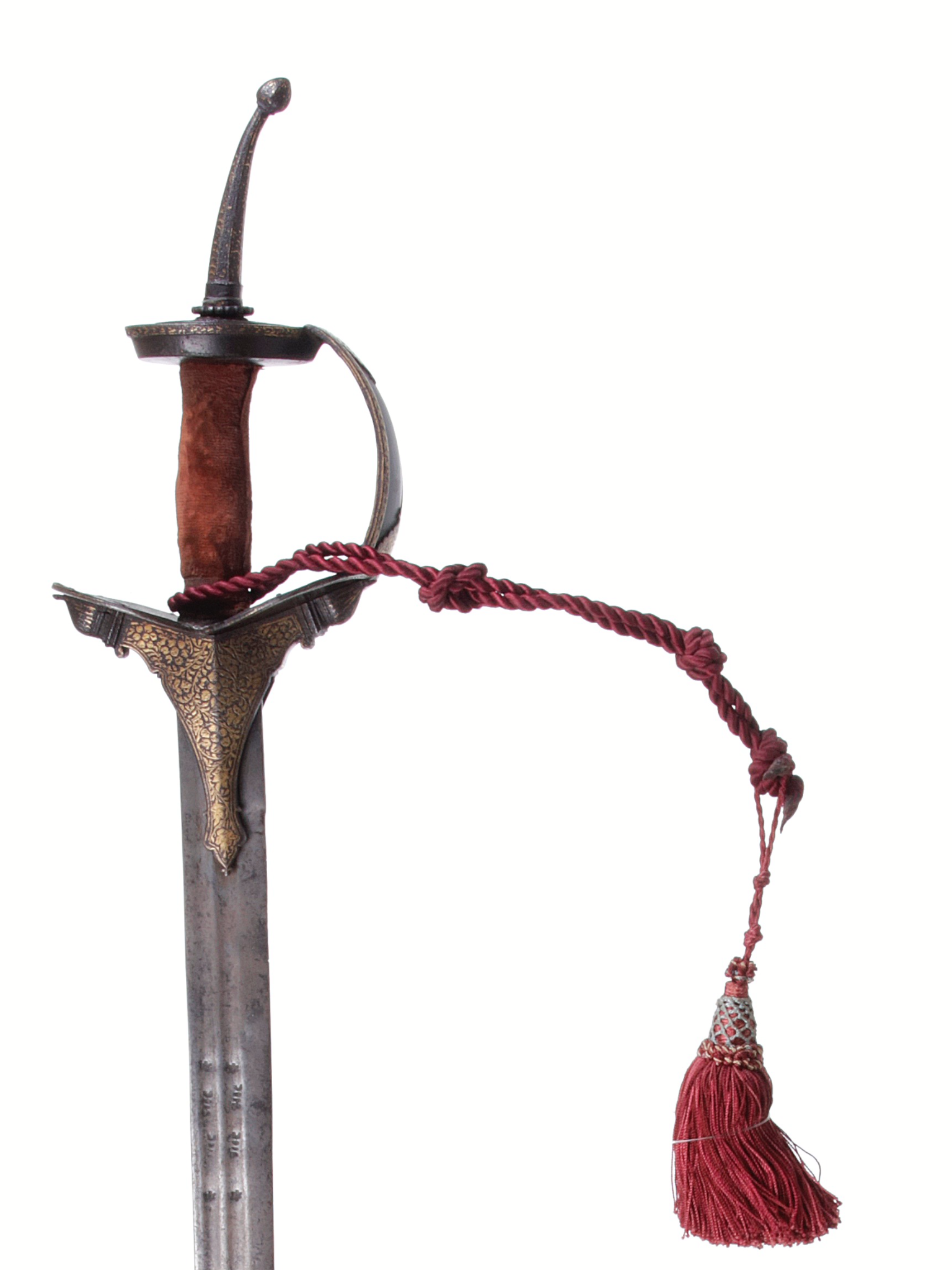 From The Caravana Collection ! The Firangi, Indian sword (foreigner), related with the Portuguese sailors. Always with a European blade. From the 18th century.
