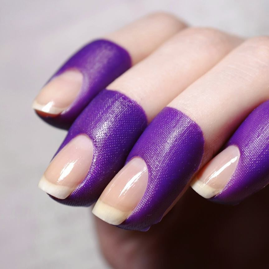 Peel Off Tape Latex-Free Cuticle nail tapes, useful for nail art ...