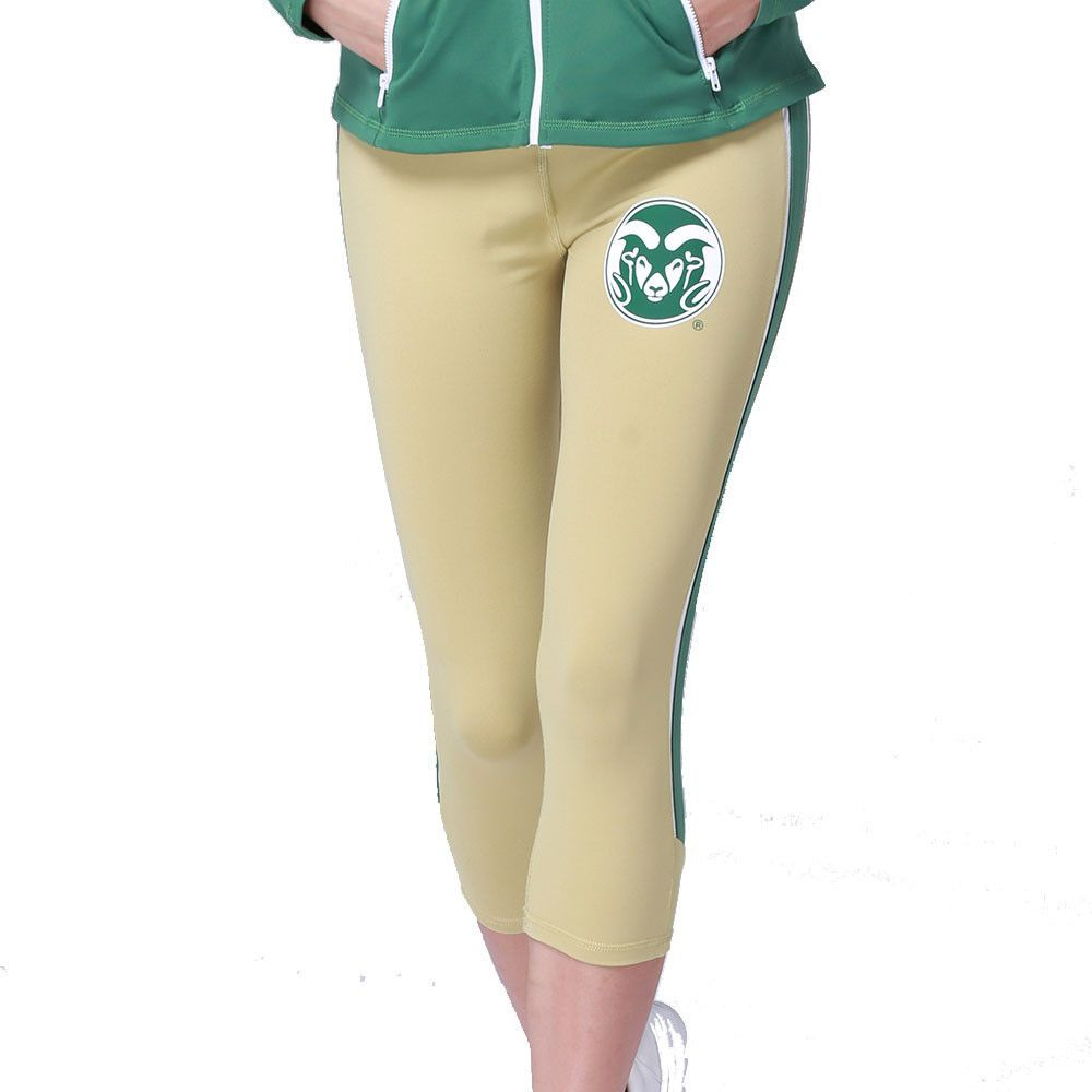 dbfc91eba7e746 Colorado State Rams NCAA Womens Yoga Pant (Gold) (Large) | Products ...
