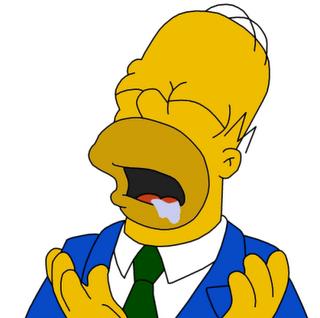 Homer Simpson Homero Babeando Babas Frases Png 320 318 Personajes De Los Simpsons Fotos De Homero Homero Simpson