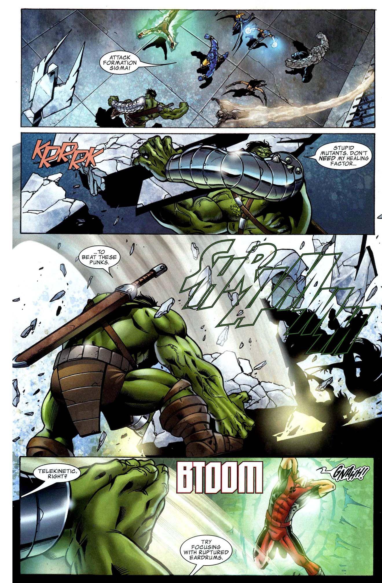 Hellion Vs The Hulk Hulk Marvel World War Hulk Fun Comics