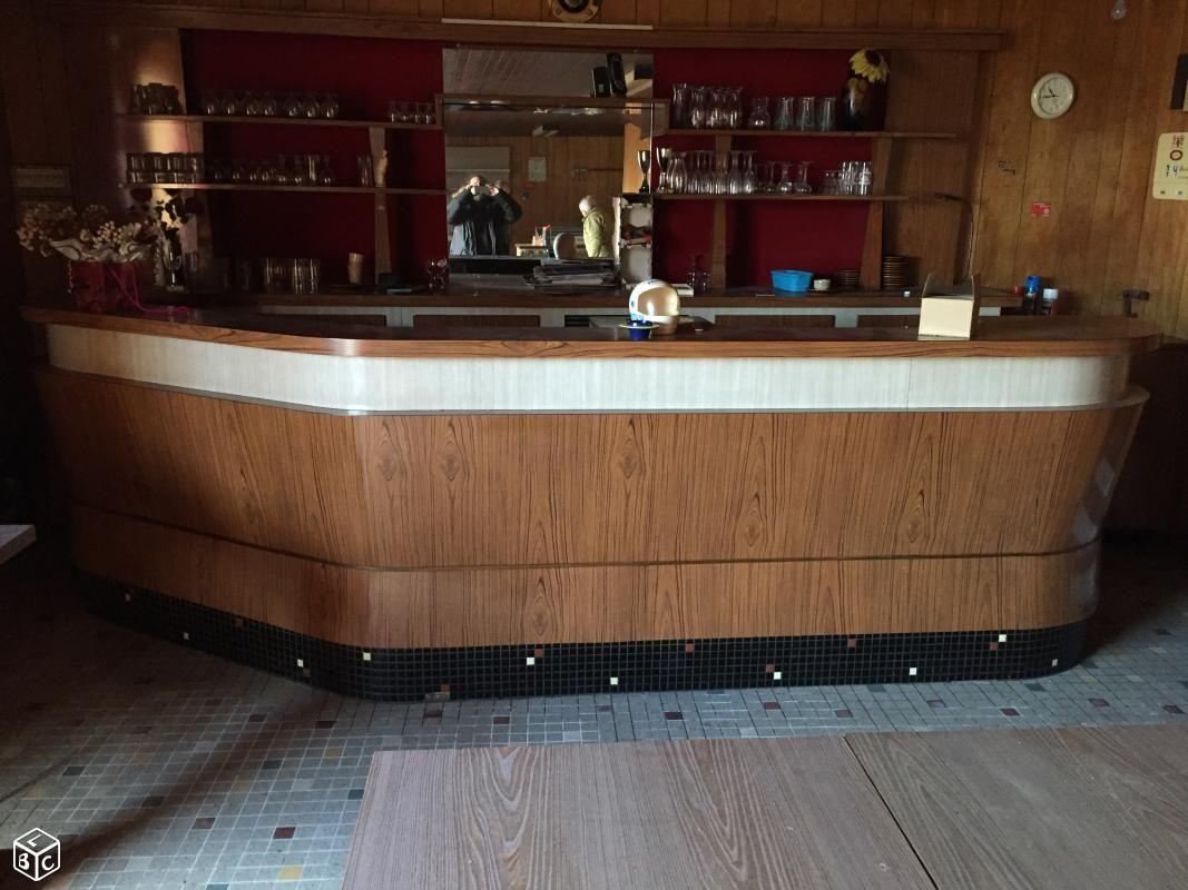 Ancien Comptoir Formica Et Son Arriere Bar Ameublement Morbihan Leboncoin Fr Mobilier De Salon Ameublement Comptoir De Bar