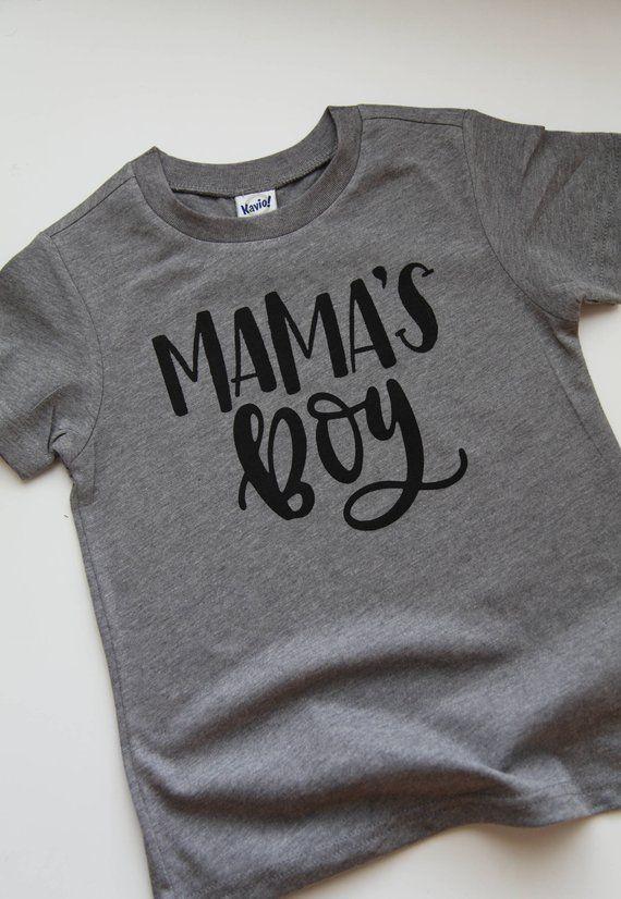 0ac57300 Mama's boy, ladies man, boy mom, moms bf, monochrome, kids t shirt, boys  shirt, boys t shirt