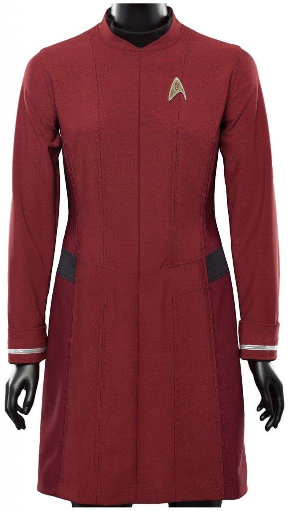 Star Trek Zoe Costume Uniform Dress Star Trek Beyond