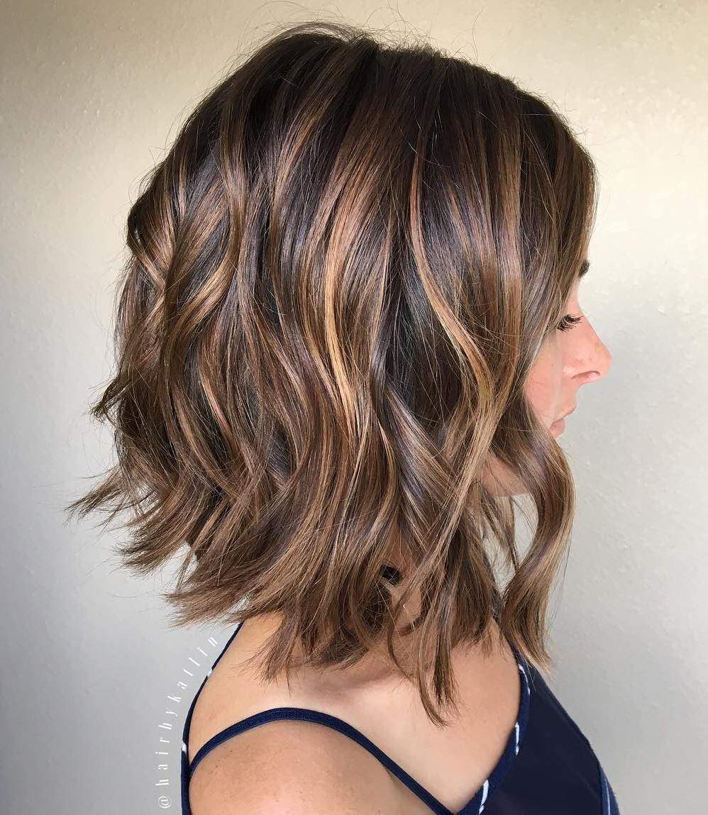 25 Special Occasion Hairstyles Pinterest Caramel Bobs And Brown