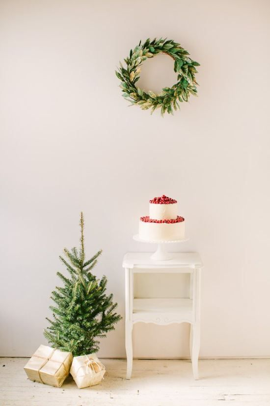 a simple christmas Christmas Pinterest Simple christmas - how to decorate a small christmas tree