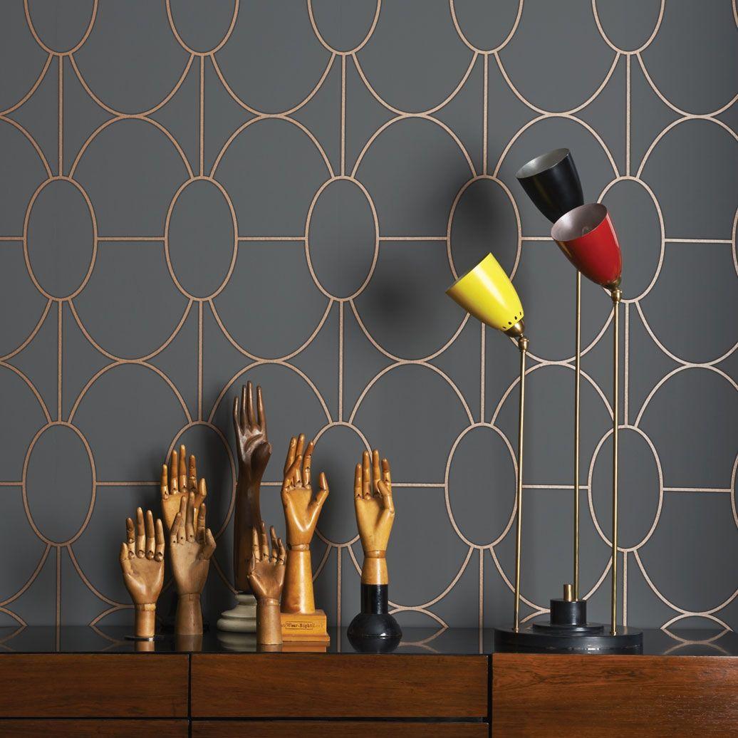 Papier Peint Riviera Cole And Son Cole Son Wallpaper Art Deco Wallpaper Home Interior Design