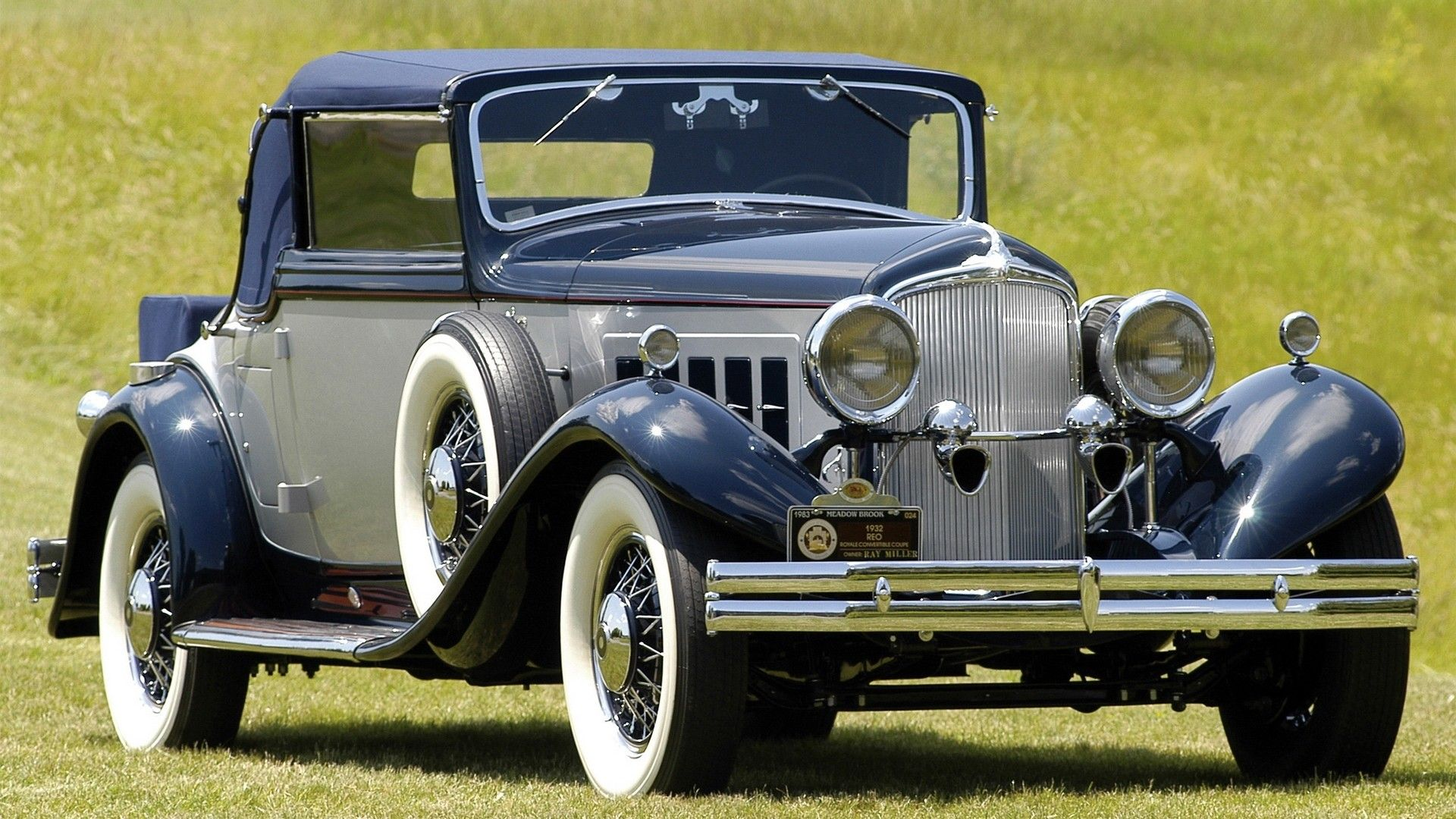 Reo Royale Convertible Coupe 1931 35 Wallpaper 13324 Oude Auto S Auto Oldtimers