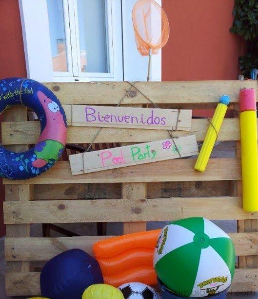 Mimosorum 7 ideas para una fiesta en la piscina pool party ideas fiesta de emilio - Cumpleanos en piscina ...