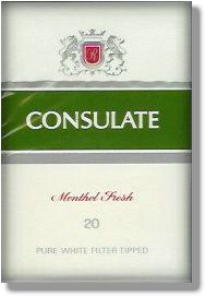 Hard Pack Of Consulate Popular Menthol Cigarettes In The 70 S And 80 S Note Phrase On Pack Menthol Childhood Memories 70s Childhood Memories Happy Memories