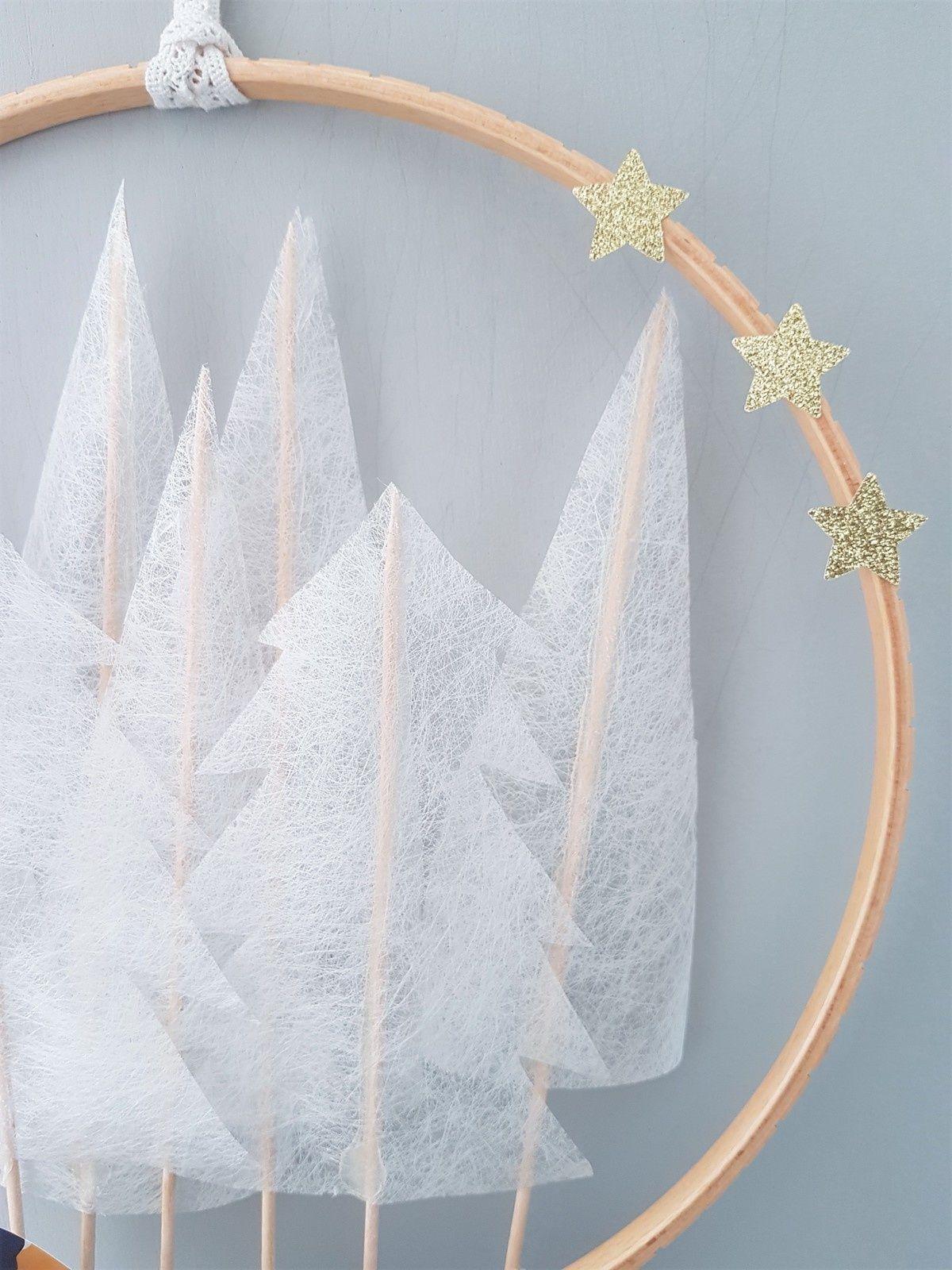 Une couronne hivernale