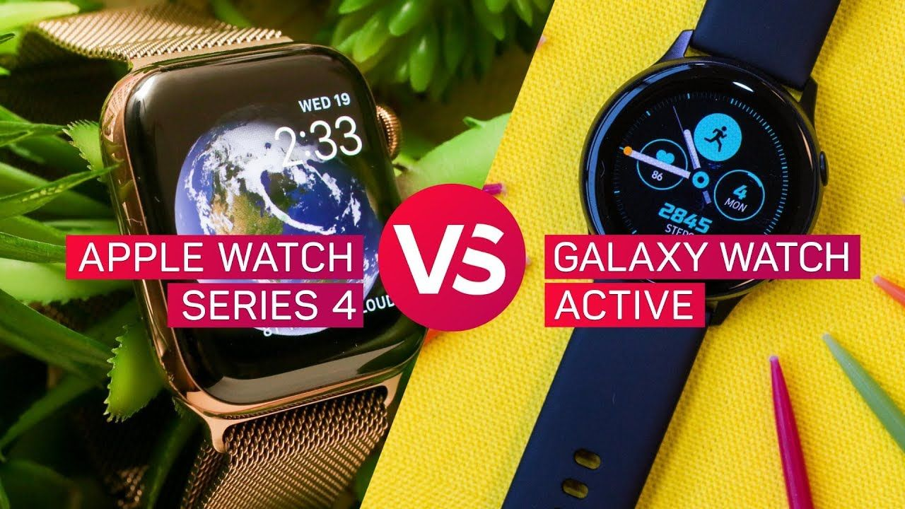 Apple Watch Series 4 vs. Samsung Galaxy Watch Active