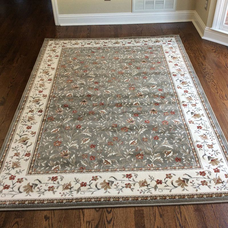 Como Floral Traditional Oriental Area Rug Area Rugs Rugs Oriental