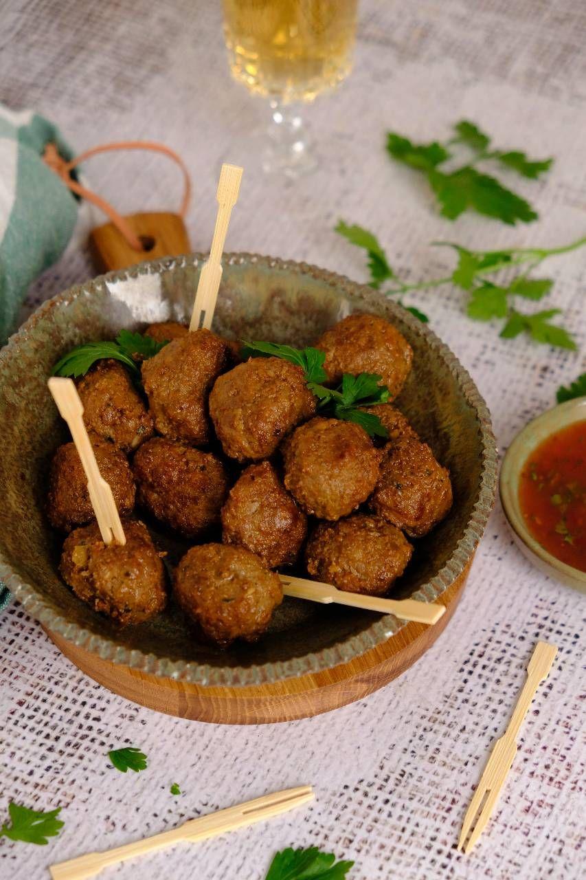 Thaise gehaktballetjes uit Made by Ellen - Lekker eten met Linda