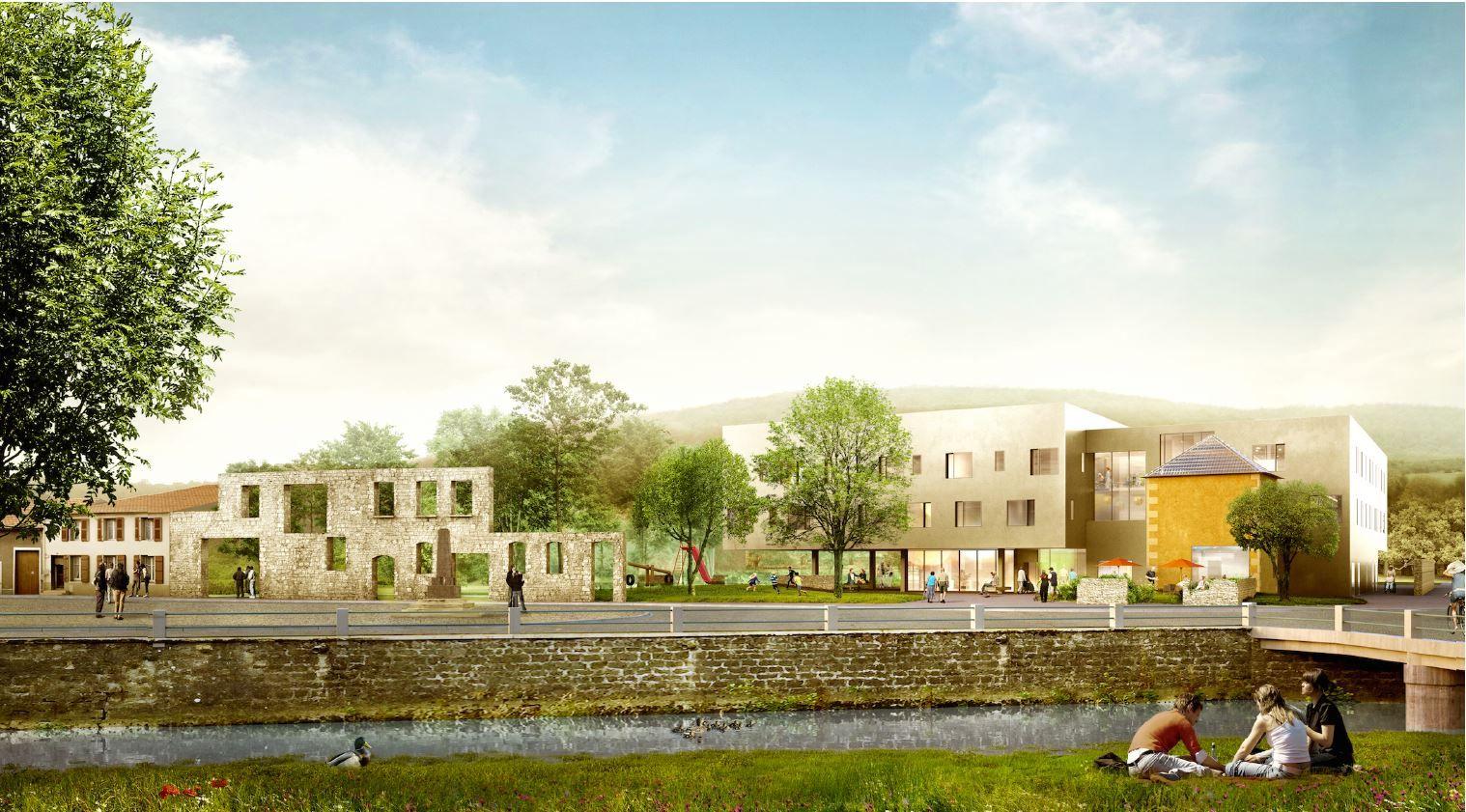EHPAD / Maison de Retraite Legay-Colin à Poissons - études en cours - Dominique COULON & Associés