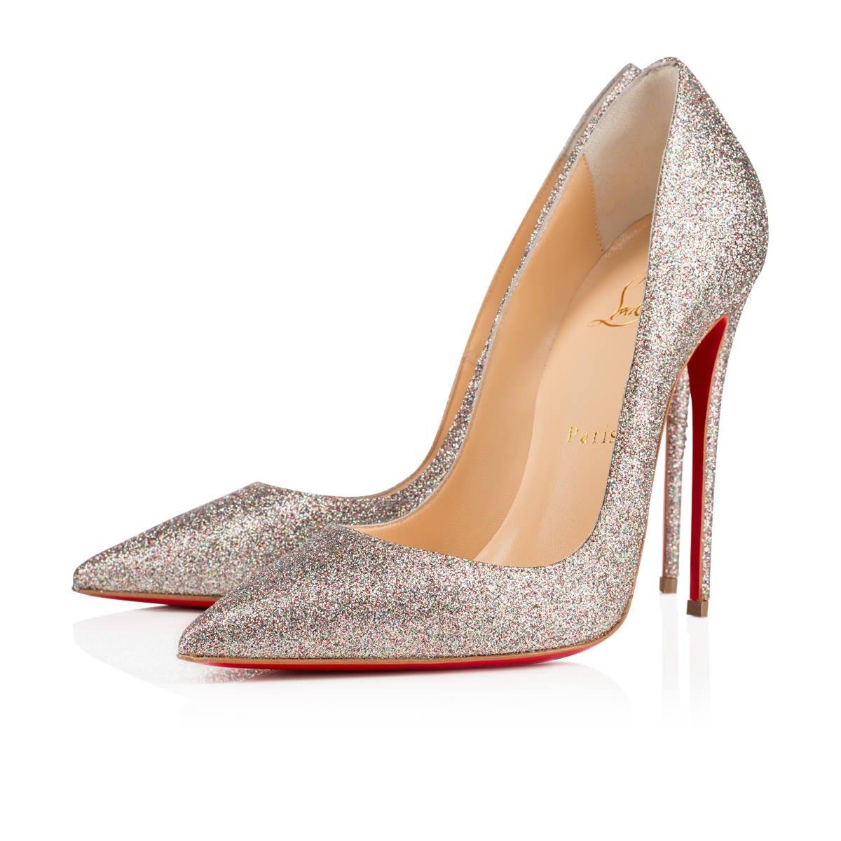 SO KATE GLITTER MINI,MULTI,Glitter,Women Shoes,Louboutin.