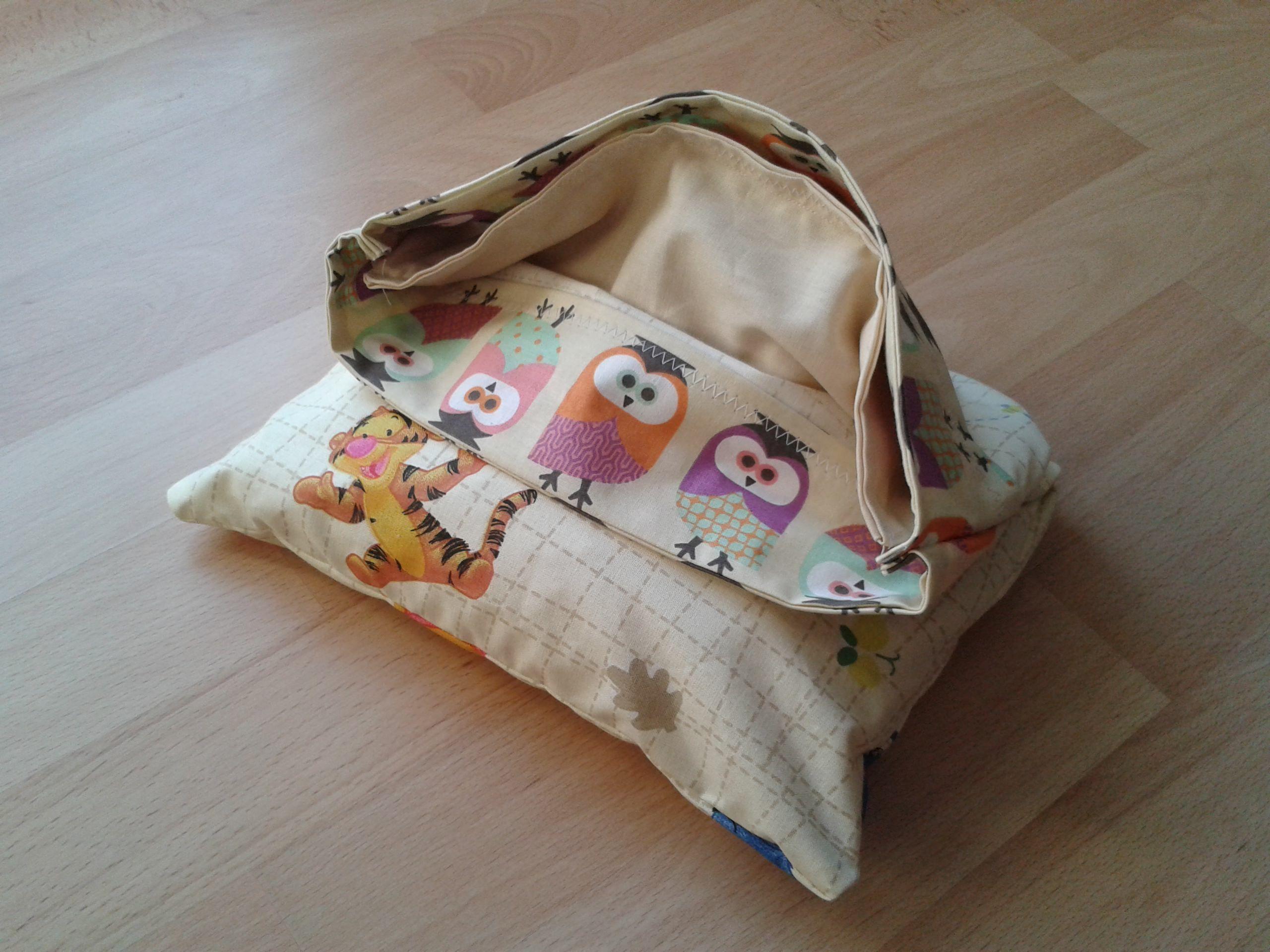 Einfaches Kirschkernkissen nähen | Kissen und deko | Pinterest ...