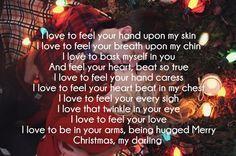 Christmas Love Poem Images Christmas Pinterest Love Poems