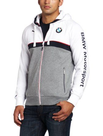 67cd0dda PUMA Men's BMW Hooded Sweat Jacket | FRE$H AF | Jackets, Mens ...