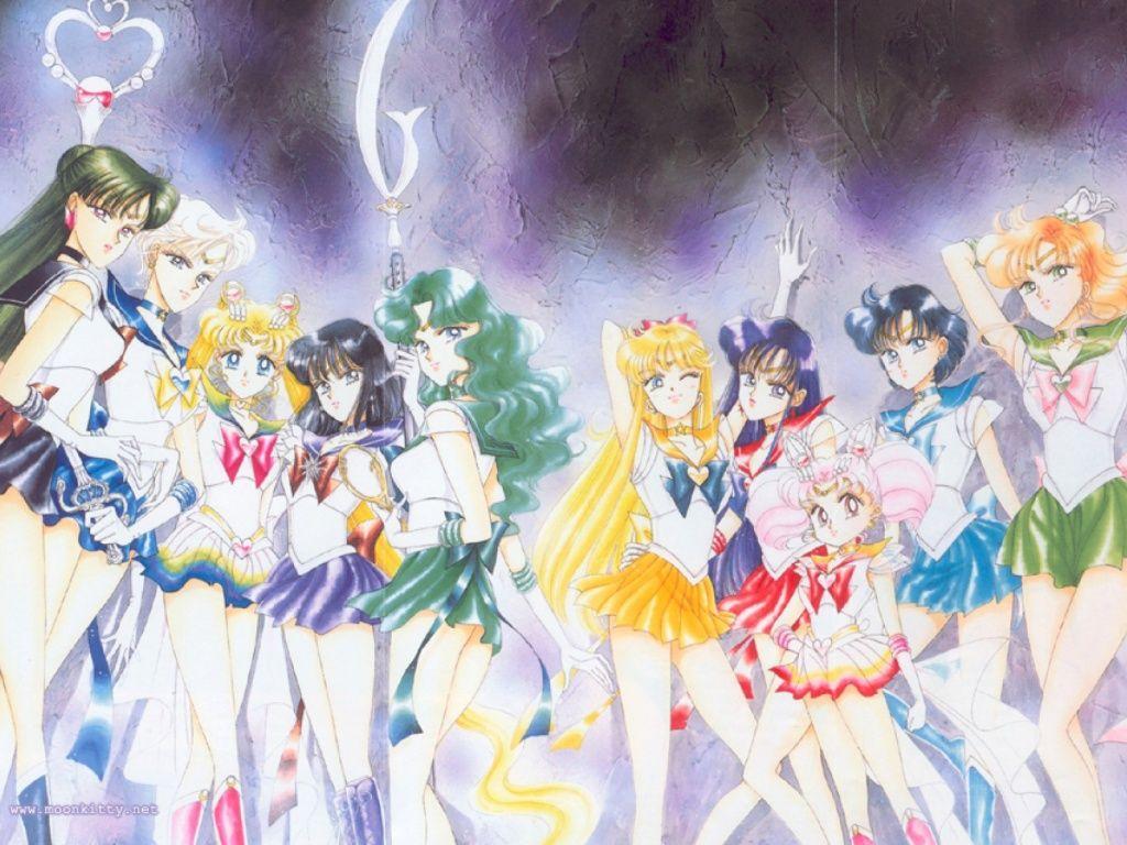 Sailor Moon 64 Wallpapers Sailor Moon Manga Sailor Moon Usagi Sailor Moon Wallpaper