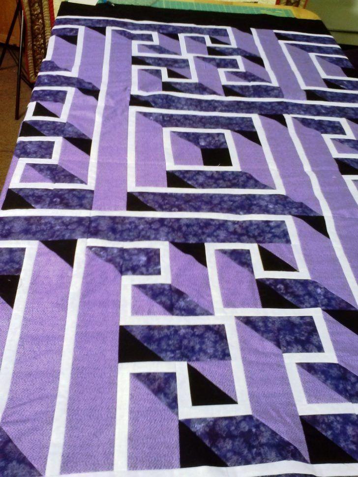 exclusive wonderful purple kitchen ideas | Wonderful Labyrinth Quilt Pattern And Contemporary Ideas ...