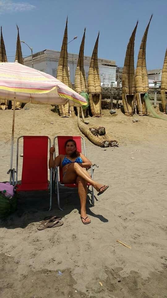 Esta playa es en Trujillo.