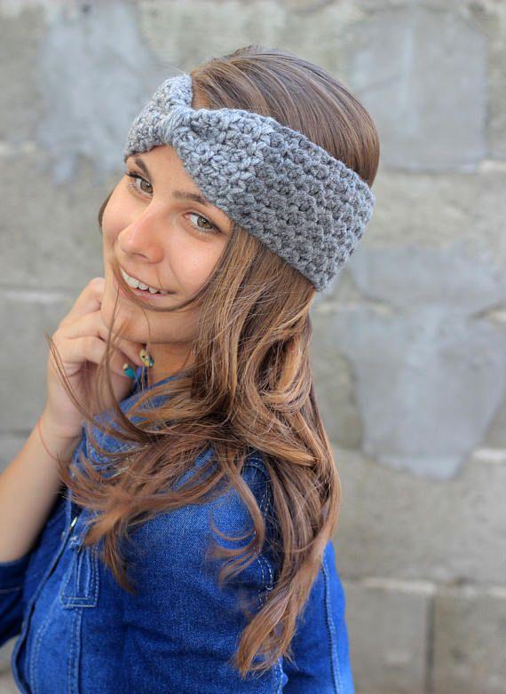 Ear Warmer Headband, Crochet Ear Warmer, Winter Headband, Wool ...