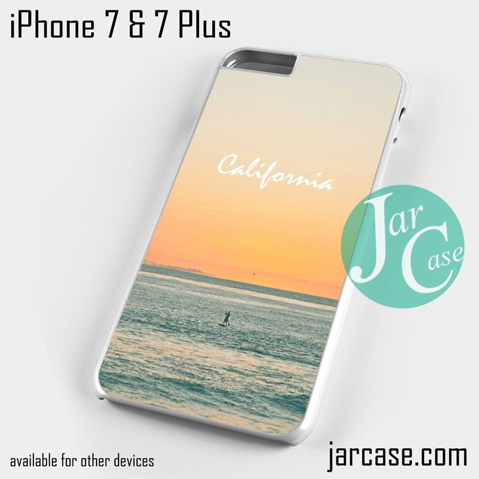 Caifornia Beach Phone case for iPhone 7 and 7 Plus