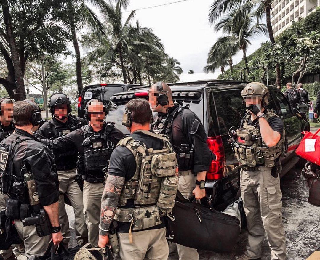 United States Secret Service Counter AssaultTeam (CAT